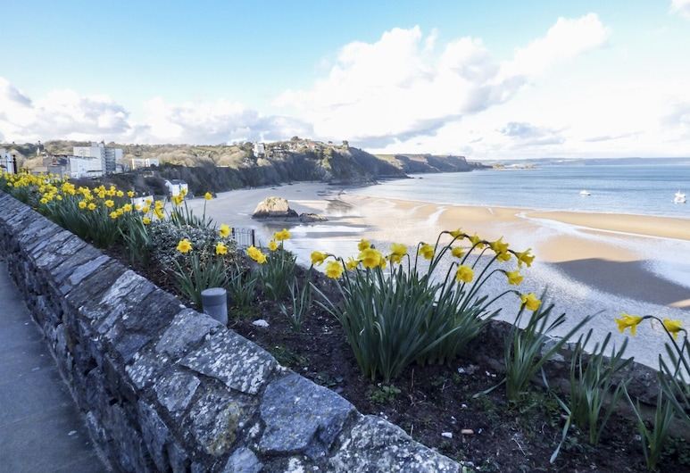 Harbour Beach at The Hideaway, Tenby, Fritidsbolig, Strand