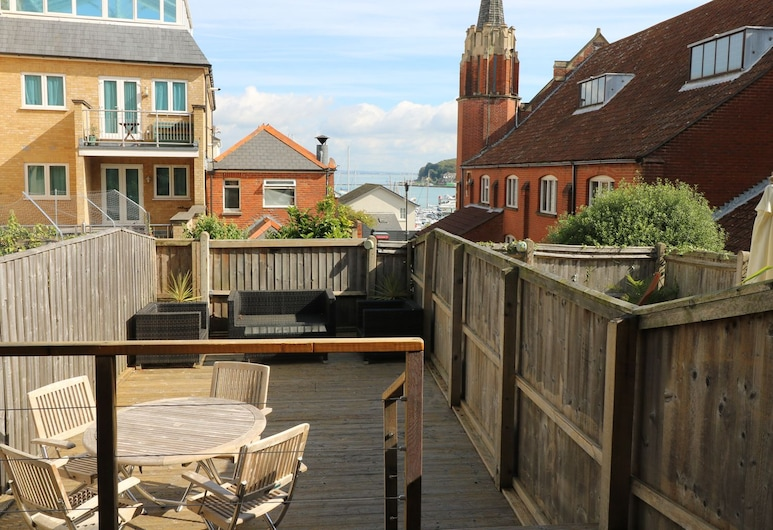 Seaside House, Cowes, Cottage, Balcon