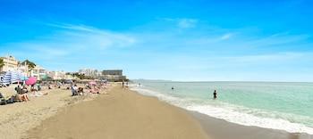 Foto van Zenbeach 2A playa Carihuela in Torremolinos