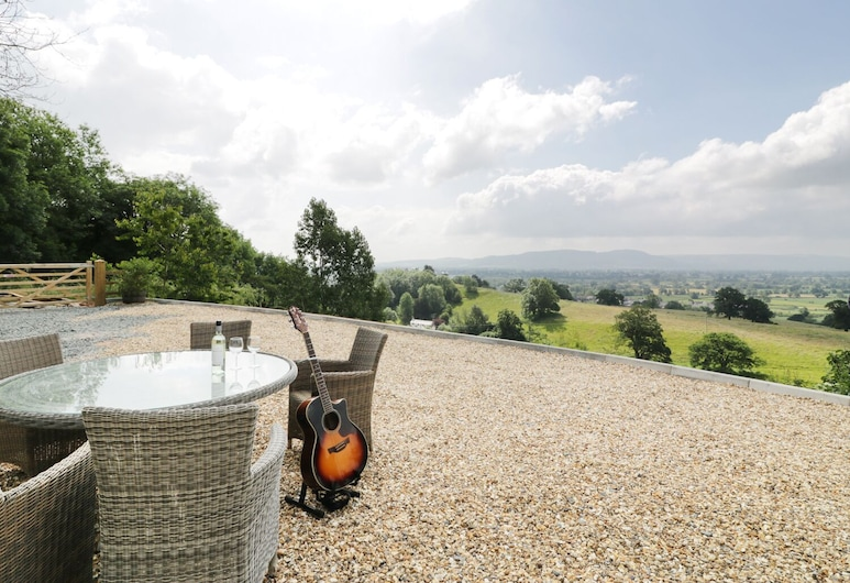 View Cottage, Llanymynech, Fritidsbolig, Balkong