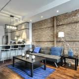 Apartment, 1 Bedroom, Kitchen (#3) - Living Area