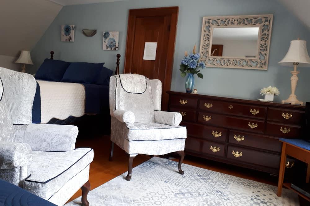 סוויטת דה-לוקס, ללא עישון, נוף לגן - אזור מגורים
