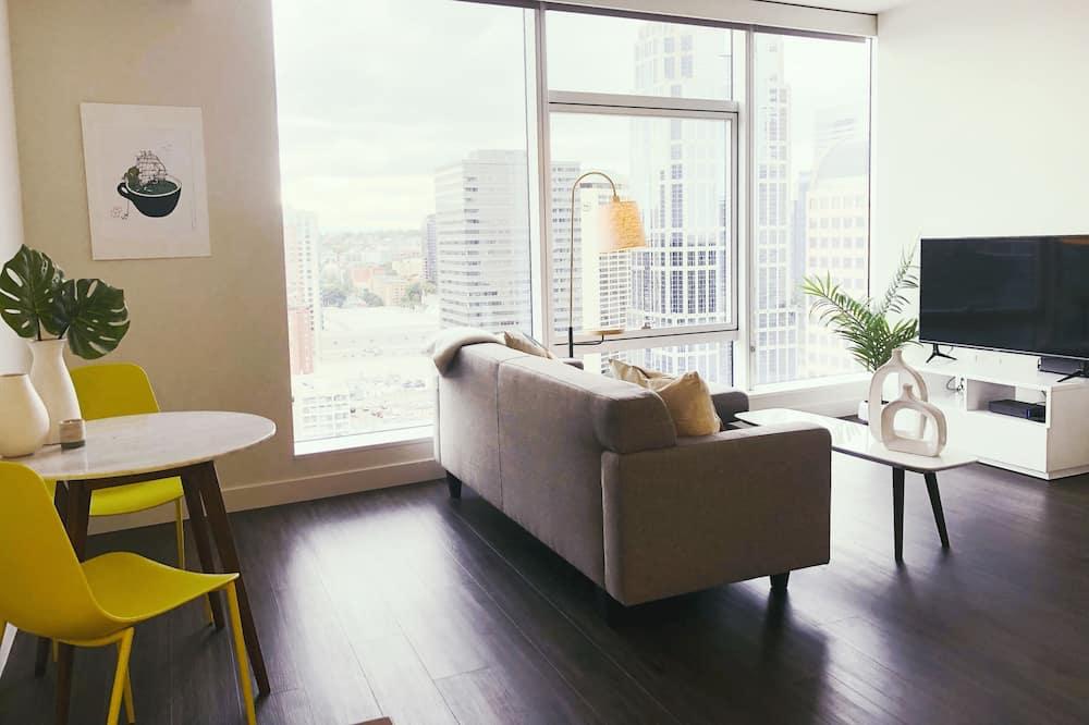 Apartmán typu Business, 1 veľké dvojlôžko - Obývacie priestory