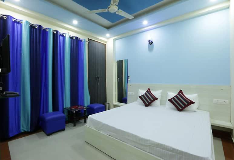 Hotel Airport Express, Yeni Delhi, Deluxe Tek Büyük Yataklı Oda, 1 Çift Kişilik Yatak, Sigara İçilmez, Oda