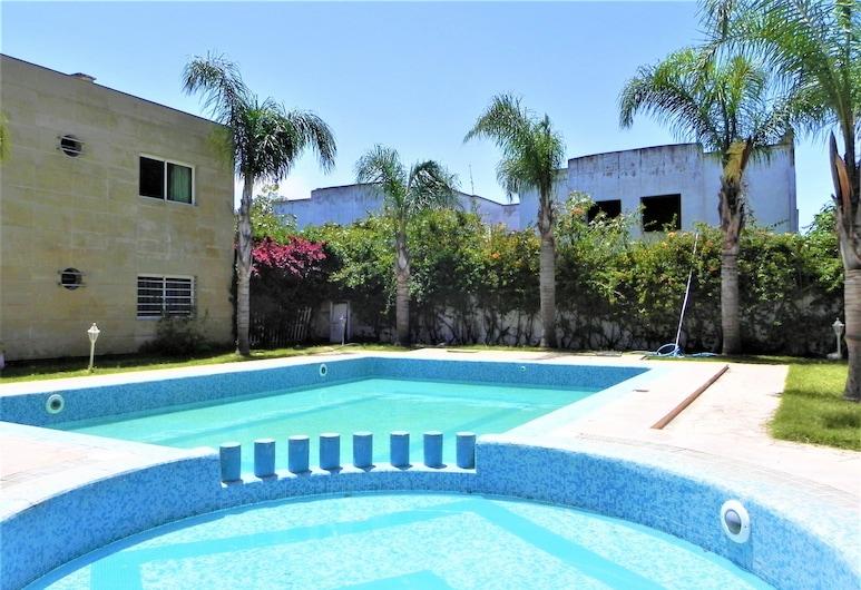 Riad Dar Statia, El Jadida, Departamento, 2 habitaciones, vista a la piscina, Habitación