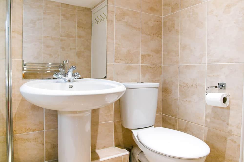 Standartinio tipo vienvietis kambarys, 1 viengulė lova - Vonios kambarys