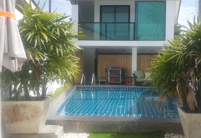 3BR 풀 빌라 니어 비치 앤드 라구나, Choeng Thale, 수영장