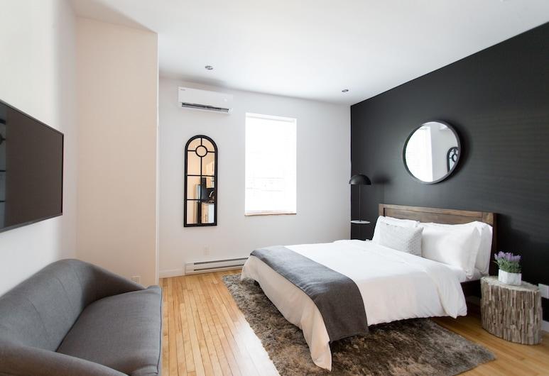 leQube Saint Denis, Montreal, Elite Apartment, Room