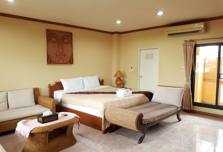 Mini Cost Apartment & Guesthouse, Chiang Mai, Superior Double Room, Guest Room