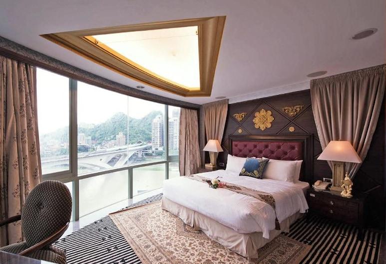 LAKE HOTEL, New Taipei City, Štvorposteľová izba typu Grand, Hosťovská izba
