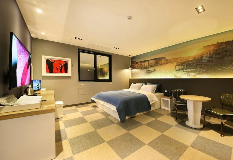 RINGS HOTEL, Γκουνσάν, Deluxe Δωμάτιο, Δωμάτιο επισκεπτών
