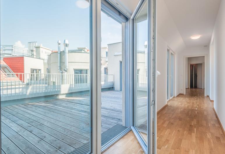 Duschel Apartments Imperial Living, Βιέννη, Διαμέρισμα, 3 Υπνοδωμάτια, Βεράντα, Αίθριο/βεράντα