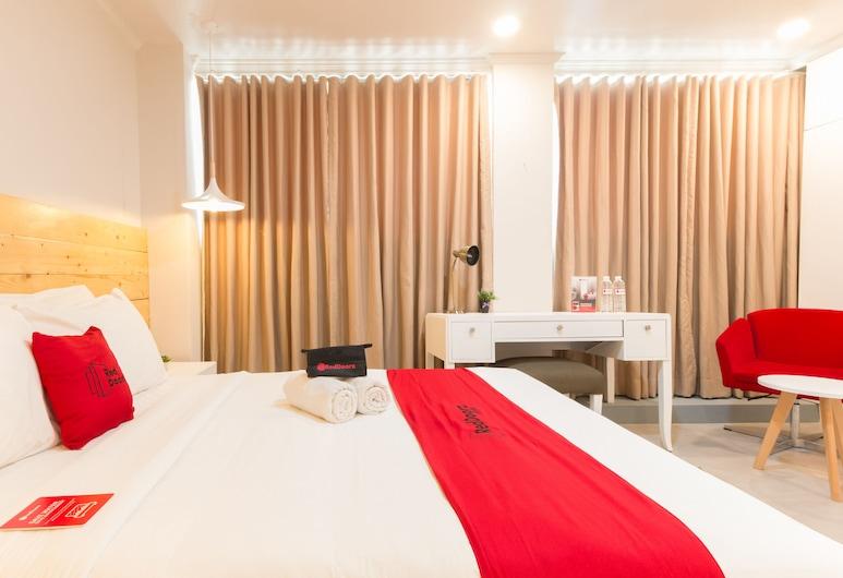 RedDoorz Premium near Greenbelt Makati, Makati, Estúdio Premium, Quarto