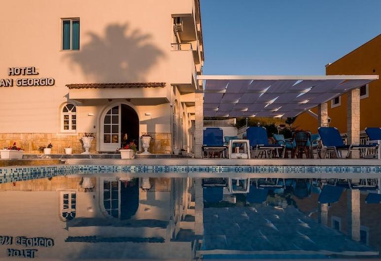 San Georgio Hotel, Corfù, Piscina