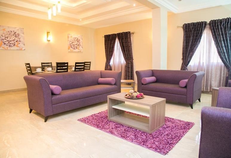 Gloriana Apartments, Abuja, Living Room