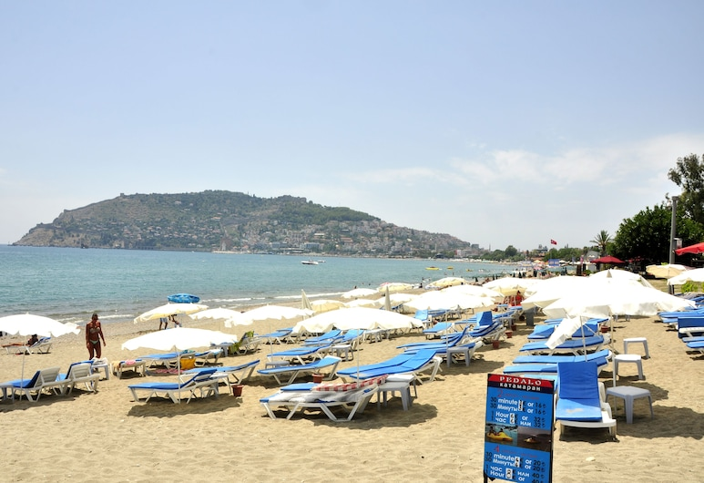 Magi App Hotel, Alanya, Pláž