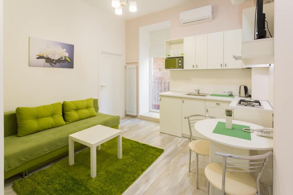 סוויטת סטודיו, ללא עישון, מטבח - אזור מגורים