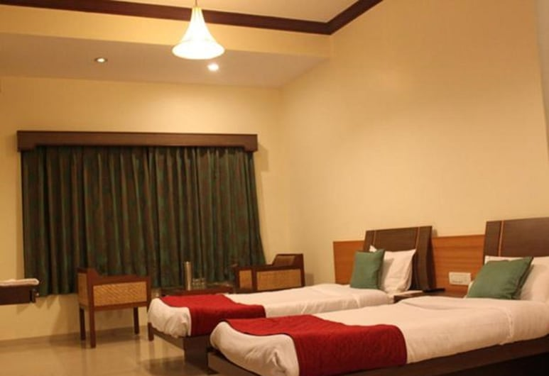 Brickland hotel, Mahabaleshwar, Deluxe szoba, Vendégszoba