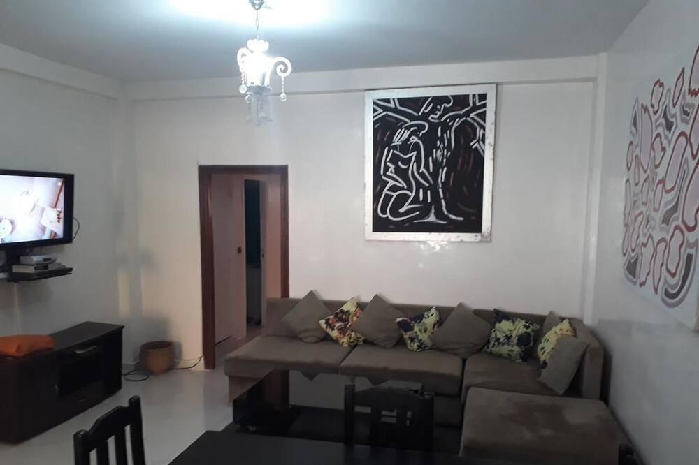 City-huoneisto, 2 makuuhuonetta - Olohuone