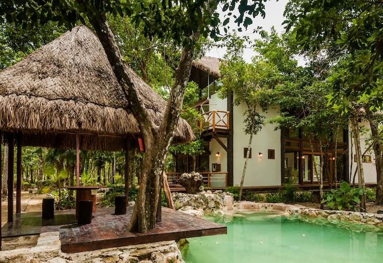 Jungle Chic Villa inTulum, Chemuyil