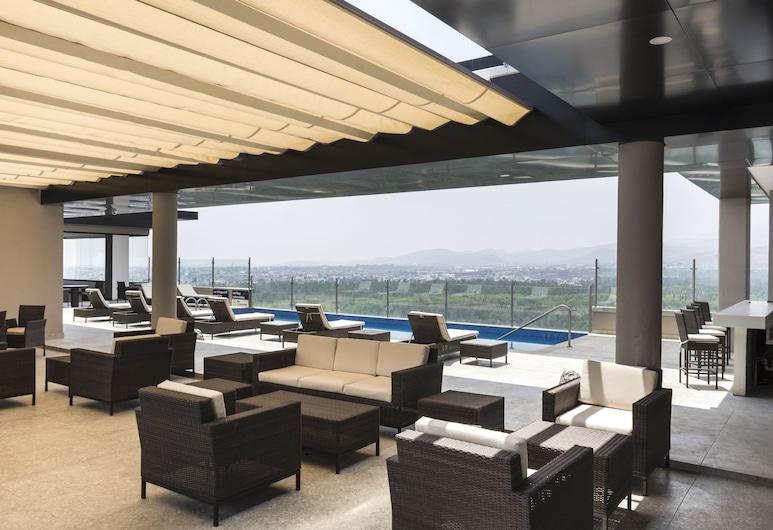 Hampton Inn San Luis Potosi, San Luis Potosi, Bazén na střeše