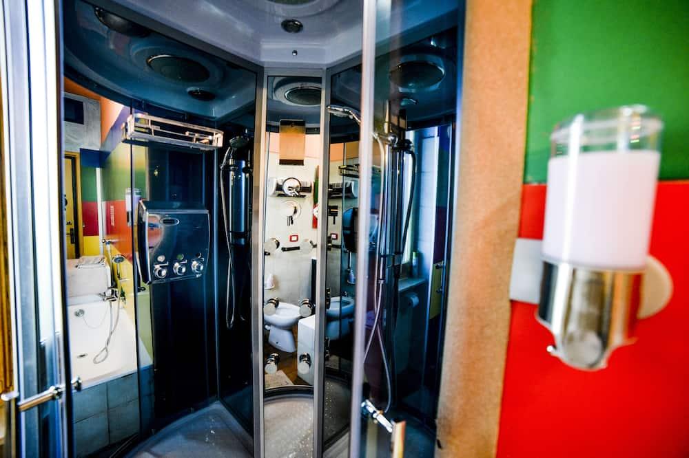 Habitación doble Confort, baño compartido (Il Beppe) - Baño