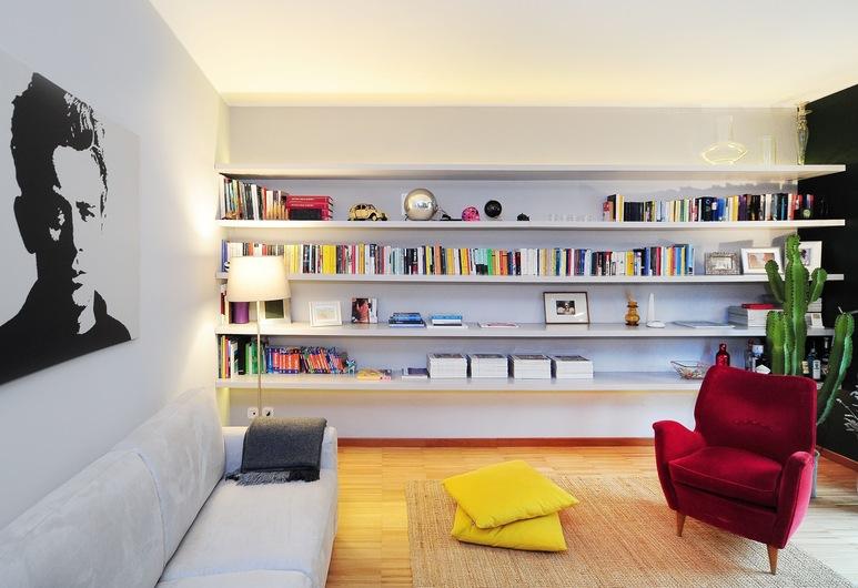 Urban District Milan Downtown Isola, Μιλάνο, Exclusive Διαμέρισμα, 1 Υπνοδωμάτιο, Περιοχή καθιστικού