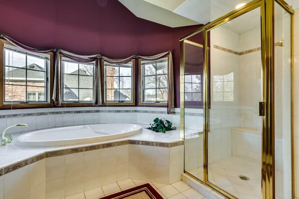 Luxury-Haus, 1King-Bett, Nichtraucher - Whirlwanne