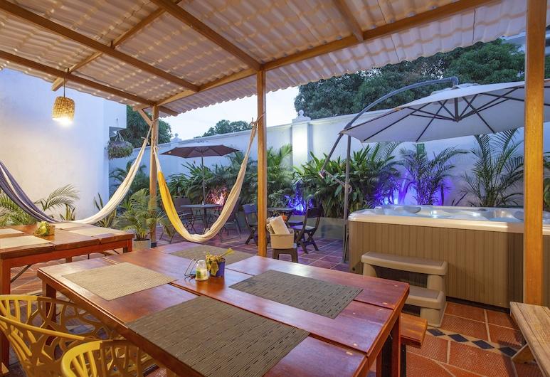 Múcura Hotel & Spa, Cartagena, Teras/Veranda