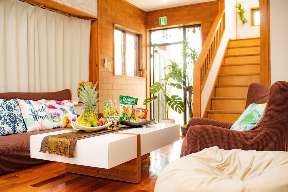 Maison (For 1 to 10 Guests) - Salle de séjour
