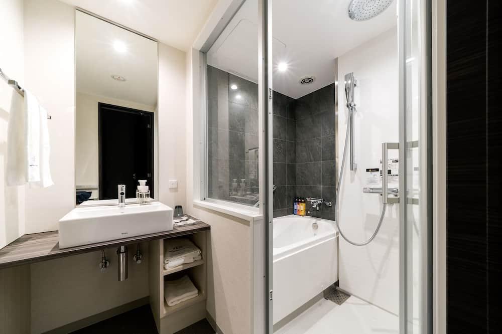 Standard Double Room, Single Use, Non Smoking - Bathroom