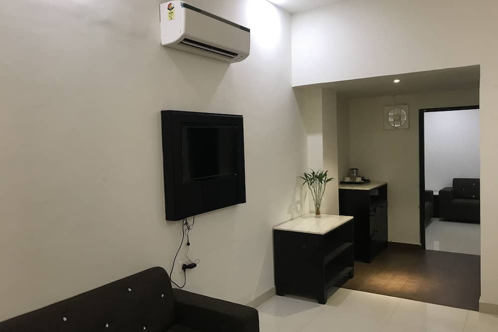 Kamar Single Deluks, 1 Tempat Tidur King, akses difabel, non-smoking - Area Keluarga
