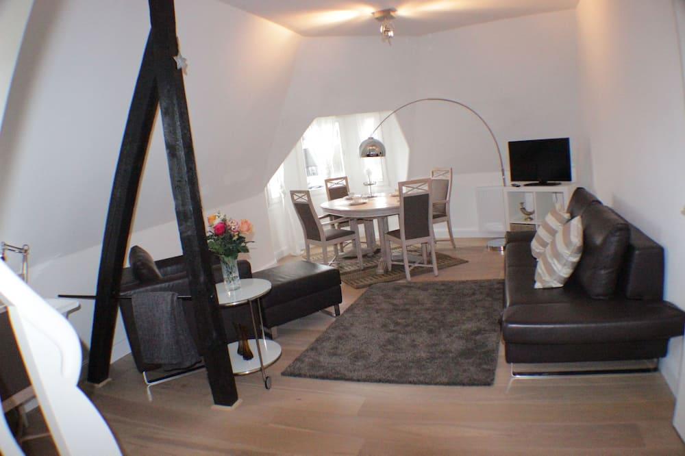 Comfort-suite - 2 soveværelser - ikke-ryger - køkken - Opholdsområde