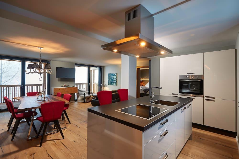 Comfort-Apartment (8) - Wohnzimmer