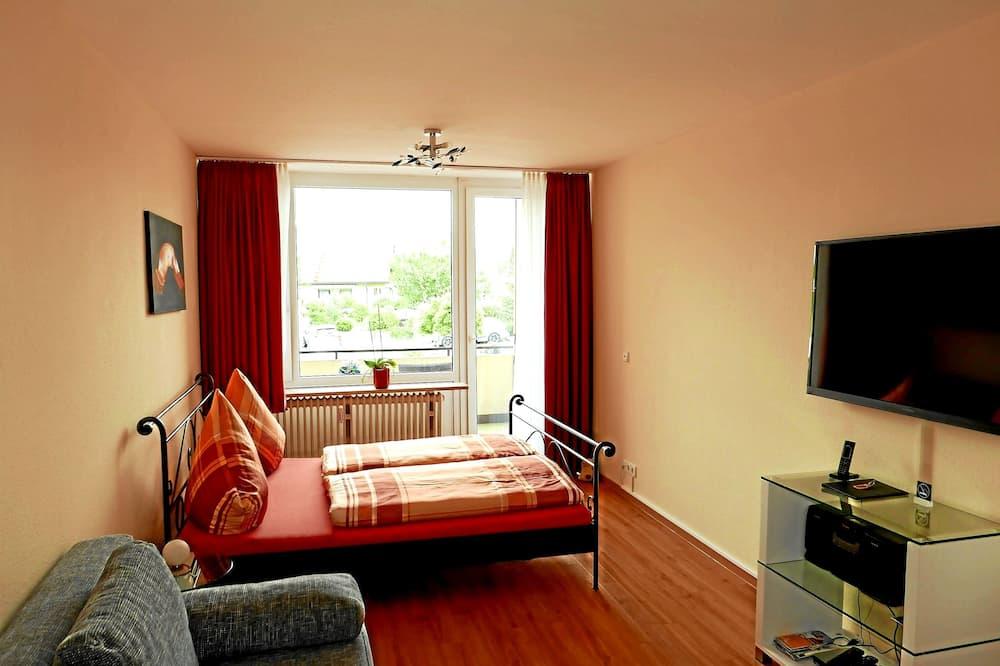 Apartment, 1 Bedroom, Non Smoking, Kitchenette - Ruang Tamu