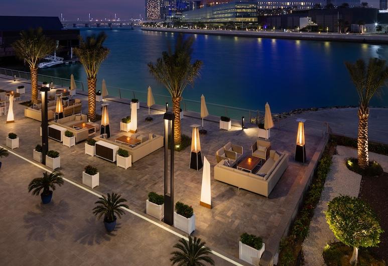 Beach Rotana Residences, Abou Dabi, Terrasse/Patio