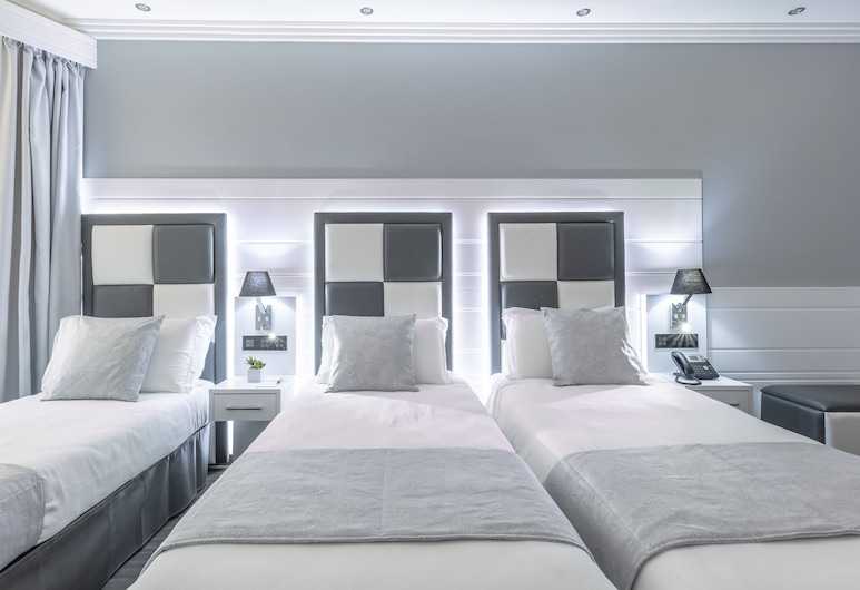THE ONE Boutique Hotel & SPA - Adults Only, Rom, Basic-Dreibettzimmer, Blick auf den Innenhof, Zimmer