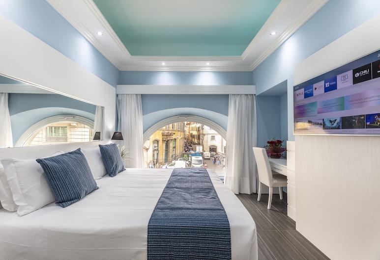 The One Boutique Hotel & SPA - Adults Only, Roma, Habitación doble Deluxe, vista a la ciudad, Vista de la habitación