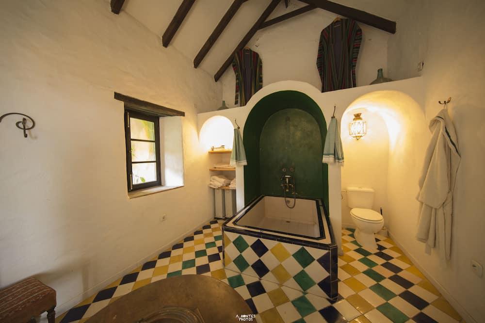 浪漫套房, 1 張標準雙人床 - 浴室