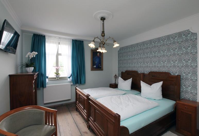 Pension & Weinstube Hofgärtnerei, Altenburg, Habitación con 1 cama doble o 2 individuales, Habitación
