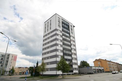 位於波里中心優良地點小型開放式公寓飯店/