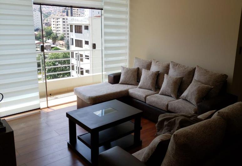 Portal Rent Apart 7, Cochabamba, Apartmán, 2 spálne, Obývačka