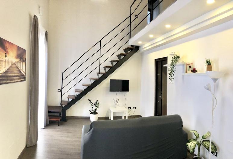 LeQuattroChiavi, Palermo, Appartamento, terrazzo, Area soggiorno