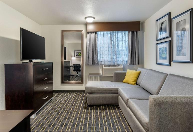 提加德華盛頓廣場附近凱富套房酒店, 提加德, 基本套房, 1 張特大雙人床, 非吸煙房, 客房