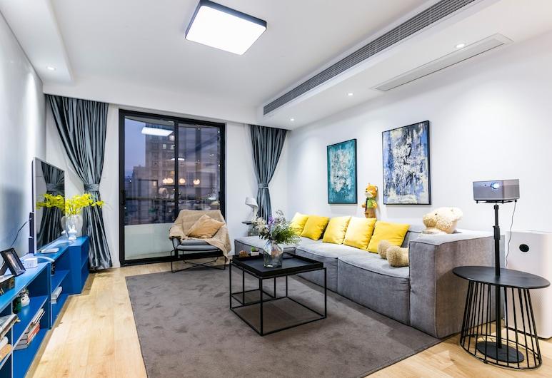 Lazy Apartment - Taikang Road, Shanghai, Apartment, 3 Bedrooms, Living Room