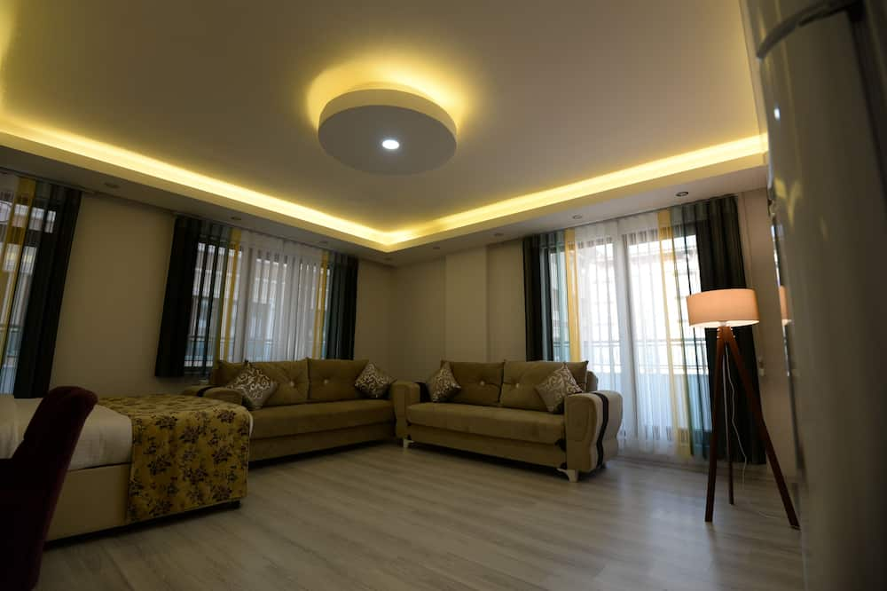 Chambre - Coin séjour