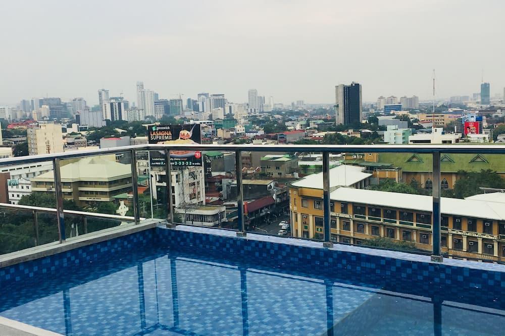 Бассейн на крыше