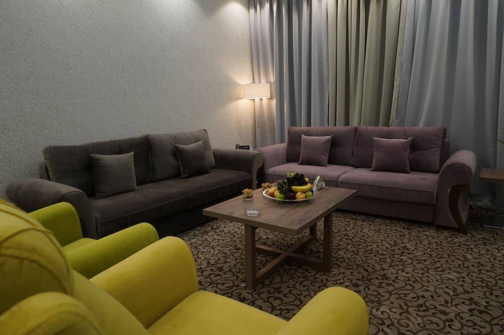 Phòng Suite Executive, 2 phòng ngủ, 2 phòng tắm - Phòng khách