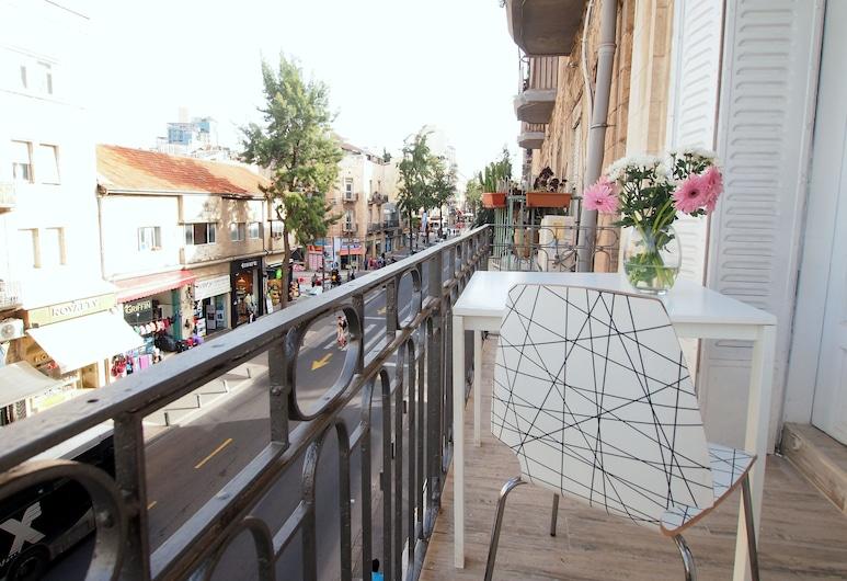 Paamonim Studios - Adults only, Yerusalem, Superior Studio with Balcony, Balkon
