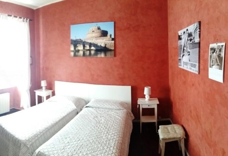 再見羅馬酒店, 羅馬, 標準雙床房, 2 張單人床, 吸煙房, 共用浴室, 客房